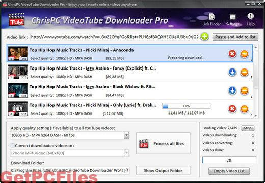 ChrisPC VideoTube Downloader Pro 11.13 Crack