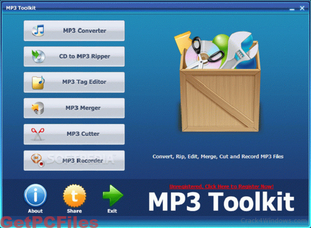 MP3 Toolkit Pro 1.6 with Crack