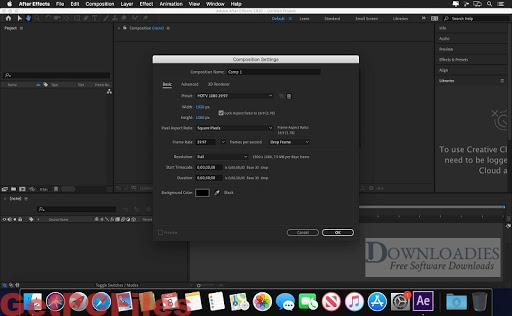 Adobe After Effects CC 2020 17.0.6 Crack + MacOS