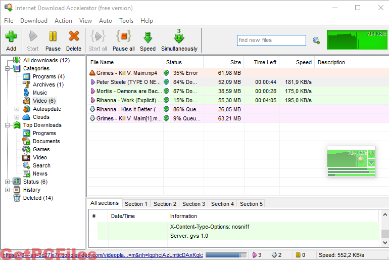 Internet Download Accelerator 6.19.5.1651 With Crack