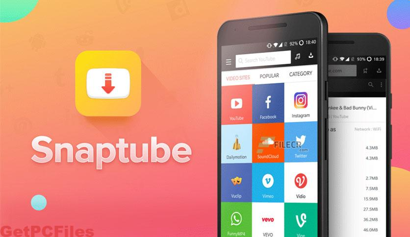 SnapTube – YouTube Downloader HD Video 4.86 With Crack