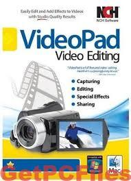 NCH VideoPad Video Editor Professional 8.28 Beta With Crack