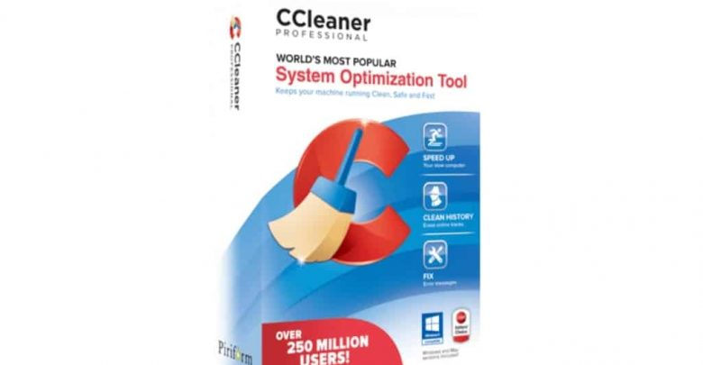 CCleaner Professional 5.75.8238 With Crack + Key [Full]
