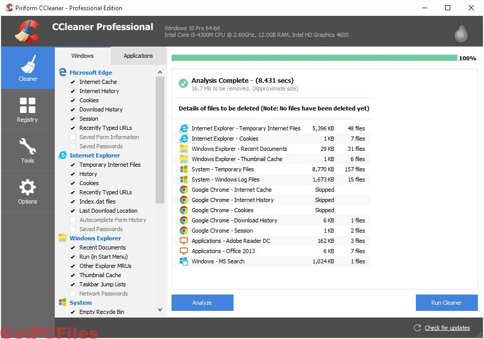 CCleaner Professional Plus 5.66.7716 Key + Crack [Full]